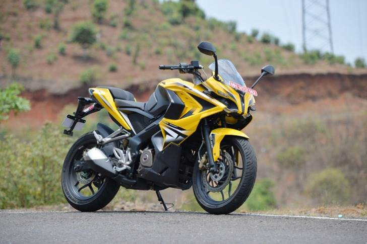 The Bajaj Pulsar RS200 is the company