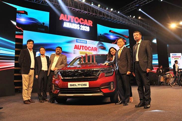 The Kia Seltos was the big winner with all of three awards: Car of the Year 2020, Viewer's Choice Car of the Year, Midsize SUV of the Year. Kia Motors India also won the Manufacturer of the Year.