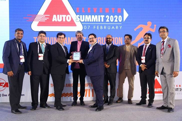 FADA Winner: Small Commercial Vehicles  First Runner-Up - Koncept Automobiles