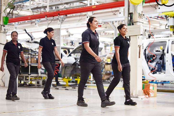Many automakers have now ensured that they have more women on the shop floor and as well as in functions like R&D, engineering, design and the like.