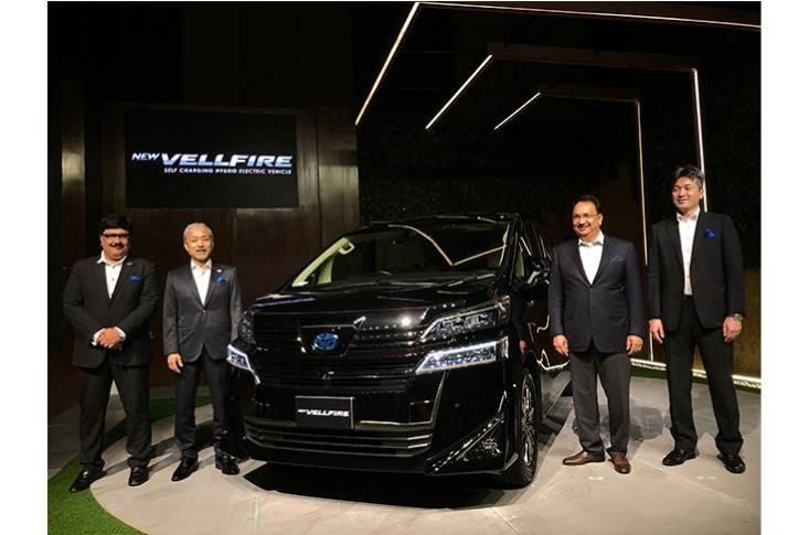 Toyota launches Vellfire with prices starting at Rs 79.50 lakh