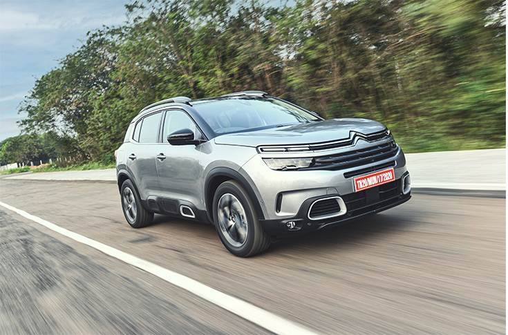 The Citroen C5 Aircross, which is assembled from CKD kits, was launched on April 7 at Rs 29.90 lakh. A total of 280 vehicles were produced in April, with 230 despatched to dealers across India