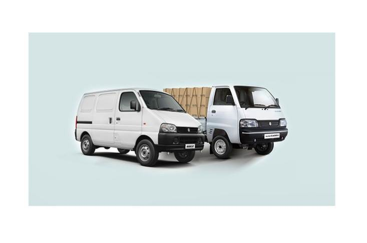 Maruti Suzuki Commercial network already retails light commercial vehicle Super Carry and country's best selling van, Eeco