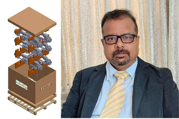 """Ramesh Prasad, MD,, Econovus: """"We are in talks with OEMs for tech-based returnable packaging and management of CKD operations."""""""