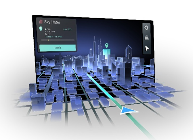 Natural 3D navigation allows for a more intuitive User Experience