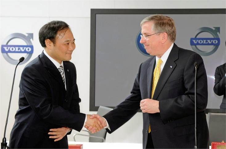 Ford signed over Volvo to Geely nine years ago