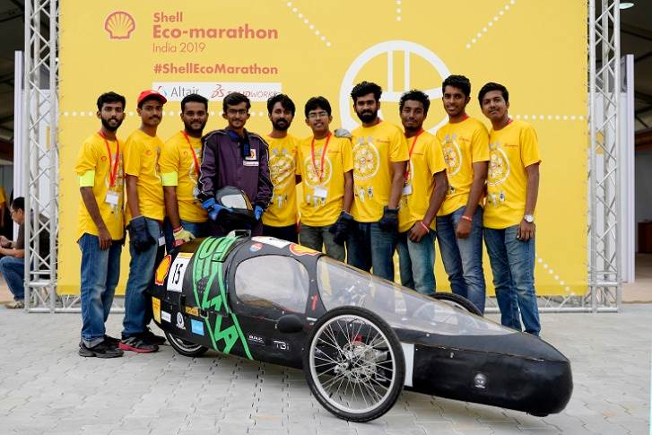 Team Pravega from the Government Engineering College, Barton Hill won the Circular Economy Award for their eco-friendly prototype made from 100% bamboo fabric combined with glass fibre and powered by electrical energy.