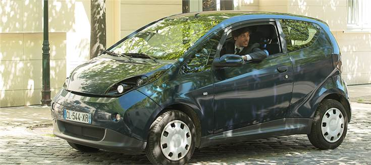 Bluecar is supplied by Bollore group and manufactured by Cecomp in Italy