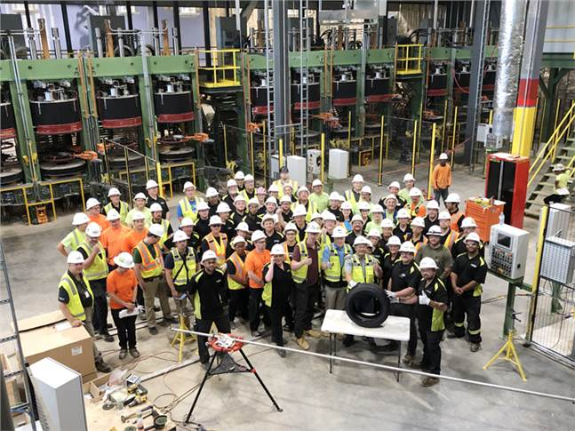 Trial production has begun at the Dayton, Tenneessee plant. Nokian Tyres