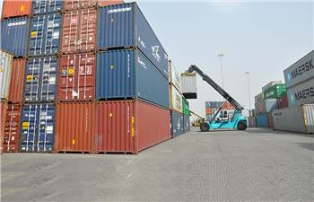 Representation image of a container freight section in Mumbai. (Image: APM Terminals)