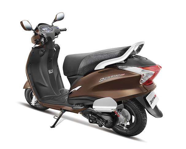 Destini 125 marks the world's largest two-wheeler manufacturer's  debut in the 125cc scooter segment.