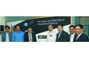 S Somanath, director, Vikram Sarabhai Space Centre inaugurated the Centre for Advanced Simulation for Space Application developed by Ansys in association with Digilog Tech.