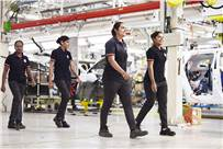 Currently women comprise 5-7 percent of workforce across OEMs and Tier 1s. The image represents how MG Motor India is diversifying its workforce starting with Halol plant where 33% are women.