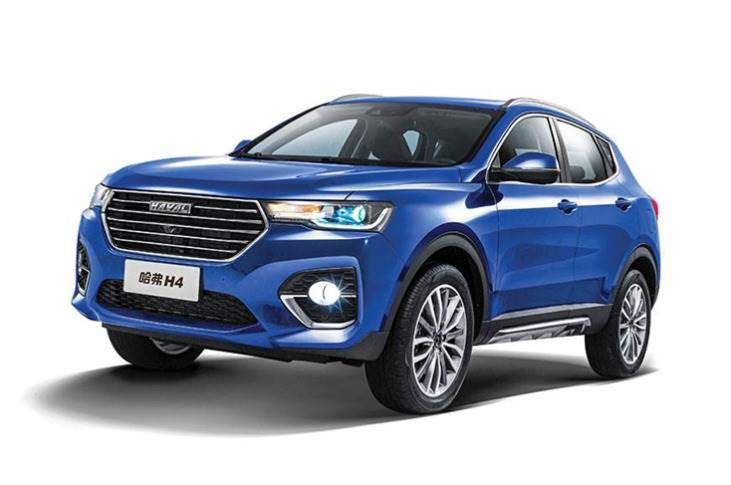 The Haval H4 shares its platform with the larger H6 and is built on a substantial 2660mm wheelbase. The 4.4-metre-long SUV is set for a 2021 market launch in India.