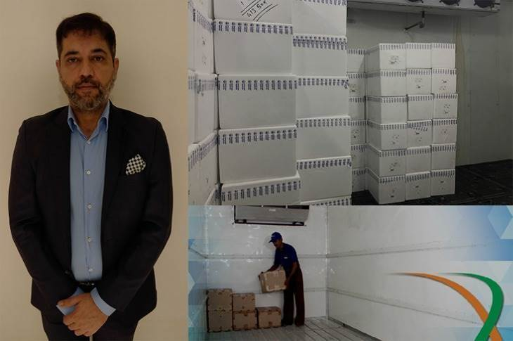 """Kunal Agarwal, co-founder and director, Kool-ex: """"We are very proud about this operation as we are transporting one of the most important cargos for India. Moreover, they are carrying a Made-in-India vaccine."""""""