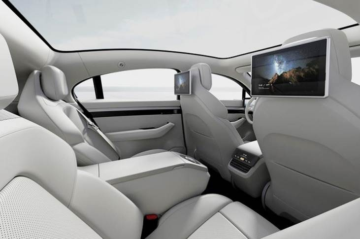 "The concept also features AI, telecommunication and cloud tech, all accessed via a large panoramic touchscreen that dominates the dashboard, and which Sony says is operated via an ""intuitive user interface""."
