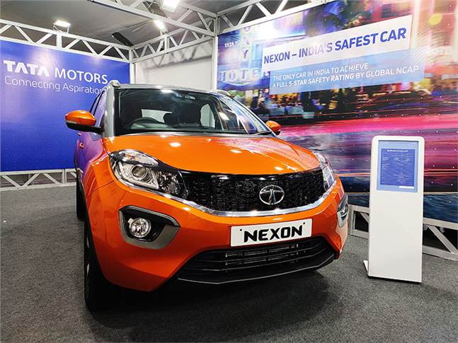 An electric version of the Tata Nexon compact SUV will debut in early January.