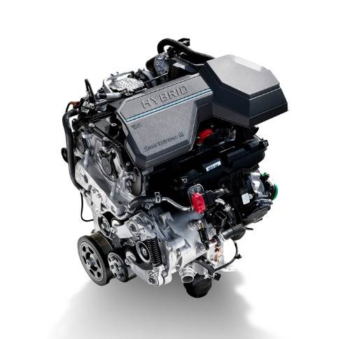 1.6L T-GDi engine represents the first application of electrified power in the Sorento line-up. The 44.2 kW electric motor and 1.49 kWh lithium-ion polymer battery pack. Combined total output of 230 hp and 350 Nm torque.