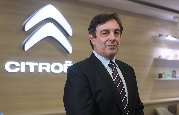 """Roland Bouchara, Senior Vice-President, Sales & Marketing of Citroen India: """"Our approach in India will focus on digitalisation . . . and what we term the phygital network."""""""