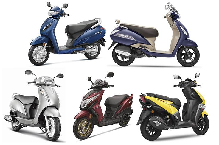 Revealed India S Best Selling Scooters In Fy2020