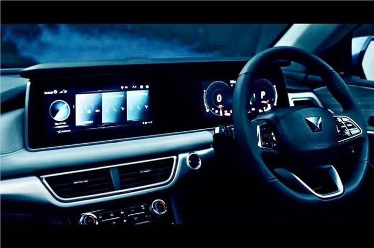 The infotainment system uses the brand's newly developed AdrenoX interface with in-built Amazon Alexa virtual assistant for carrying out a variety of voice commands.