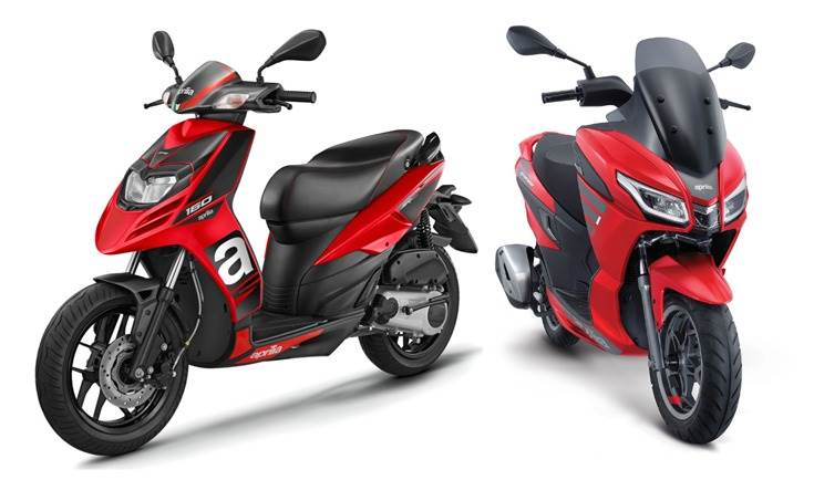 Designed-for India premium Aprilia 160 SXR scooter will be made at Baramati plant. It creates a new segment. Bookings to commence in August 2020.