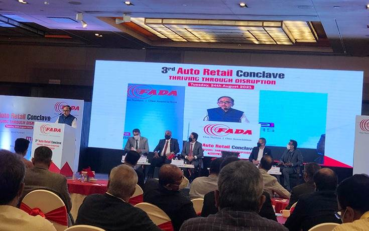 The chief guest was Union Minister of Heavy Industries, Dr. Mahendra Nath Pandey, who acknowledged the significant contribution made by the dealer community to India Auto Inc and economy