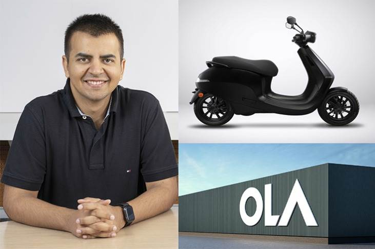 """Bhavish Agarwal: """"Today's agreement for long term debt financing between Ola and Bank of Baroda signals the confidence of institutional lenders in our plans to build the world's largest two-wheeler factory in record time."""""""