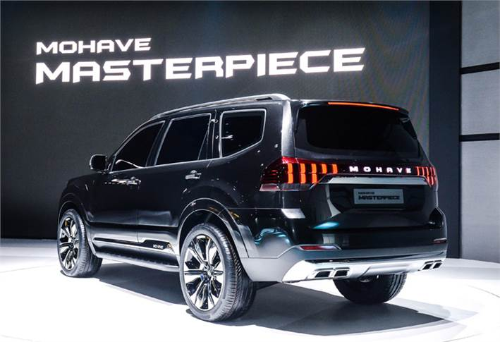 Kia Masterpiece concept is targeted at the large off-road SUV segment.