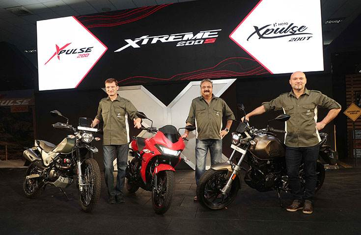 Hero MotoCorp is looking to make the most of growing demand for premium motorcycles with these three new machines.