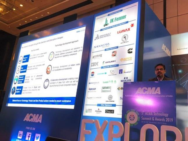 """Girish Wagh, President & Head-CVBU, Tata Motors: """"Cost optimisation and break-even points become very important during a slowdown. Therefore, a balanced focus on technology, product and non-product actions are needed to ensure sustenance."""""""