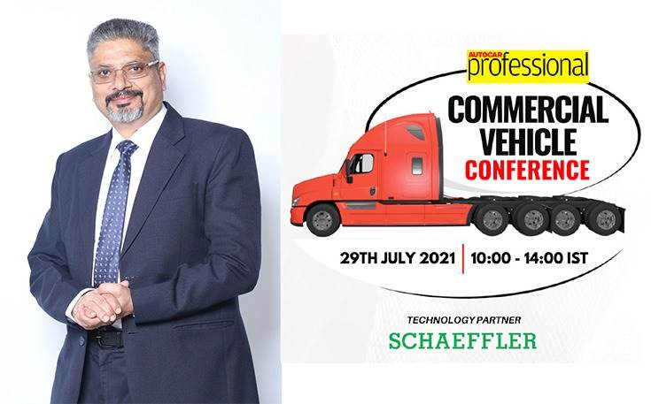 """Sanjeev Saxena, President- Automotive Technologies- Schaeffler India: """"Cost a key factor in terms of the dynamics of the CV industry in India. Need to strike the optimum balance between affordability, technological advancement and competitive abilities."""""""