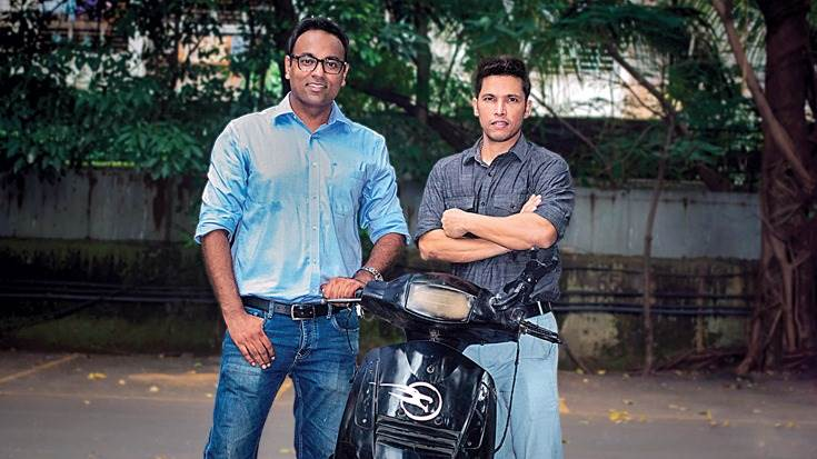 Vikas Poddar and Ashutosh Upadhyay, co-founders of Liger Mobility.
