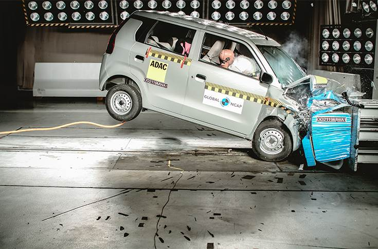 Maruti Suzuki WagonR gets two stars for safety from GNCAP
