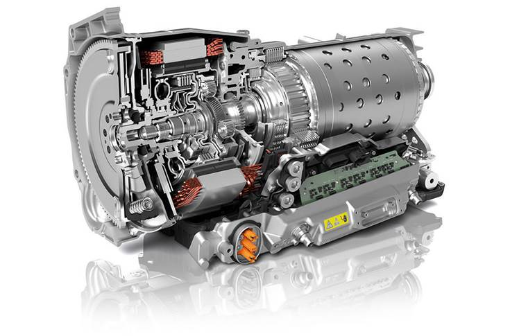 Electric motors replace torque converters in the latest hybrid gearboxes