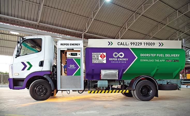 Repos Energy with its doorstep fuel delivery service