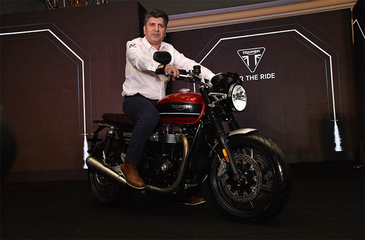 Shoeb Farooq, General Manager, Triumph Motorcycles India