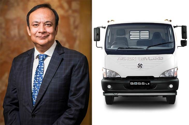 "Anuj Kathuria, COO, Ashok Leyland: ""With the new Boss LE and LX, we have further improved on our USPs of higher fuel economy and durability."""