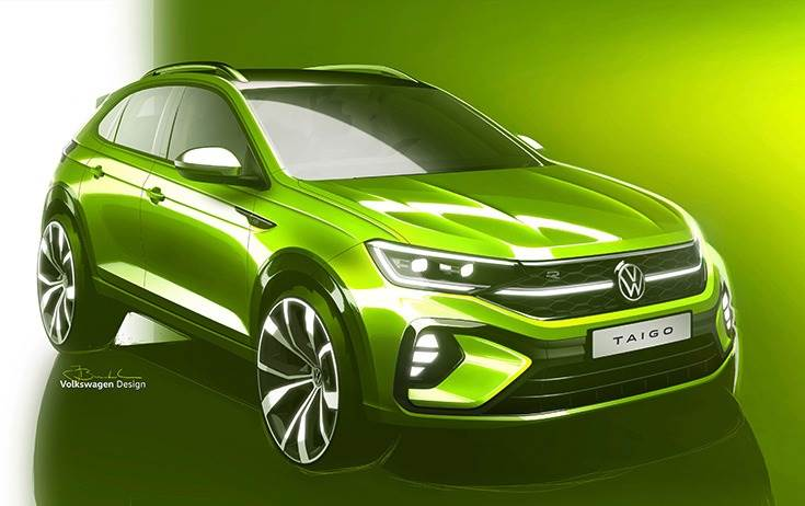 The Taigo is based on the VW Nivus model from Brazil, and will be manufactured for the European market in Pamplona, Spain.