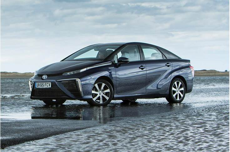 Toyota Mirai was the first hydrogen car the public could buy.