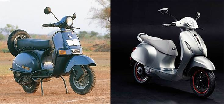 Nearly 14 years after production of the iconic IC engine Bajaj Chetak stopped, the Chetak brand has been reborn in an all-electric avatar.