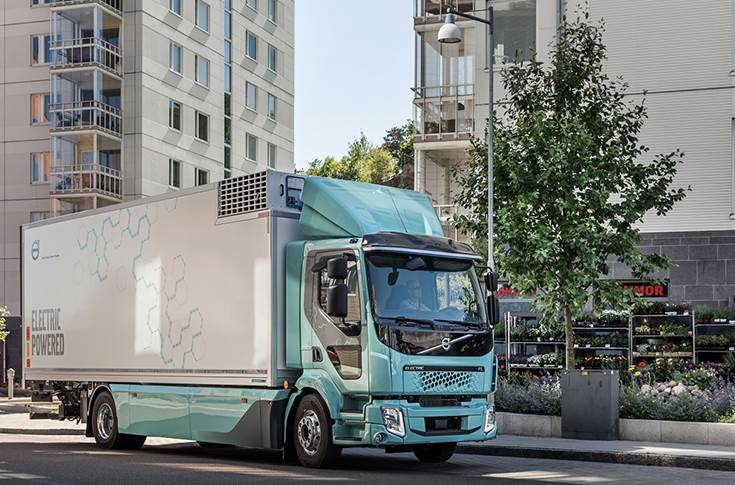 Volvo Trucks delivered its first all-electric vehicles on 19 February