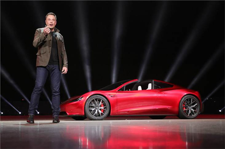 CEO Musk predicted Tesla would make a profit in Q1 this year