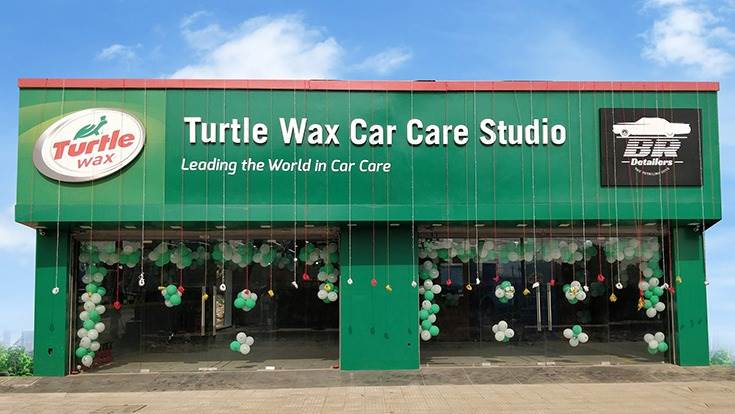 Turtle Wax has set up co-branded car-care studios in Gurgaon, Pune and Bangalore. New ones are to come up in Kochi, Chennai, Mumbai, Faridabad, Kolkata and Siliguri, and one more in Bangalore, by May 2021.