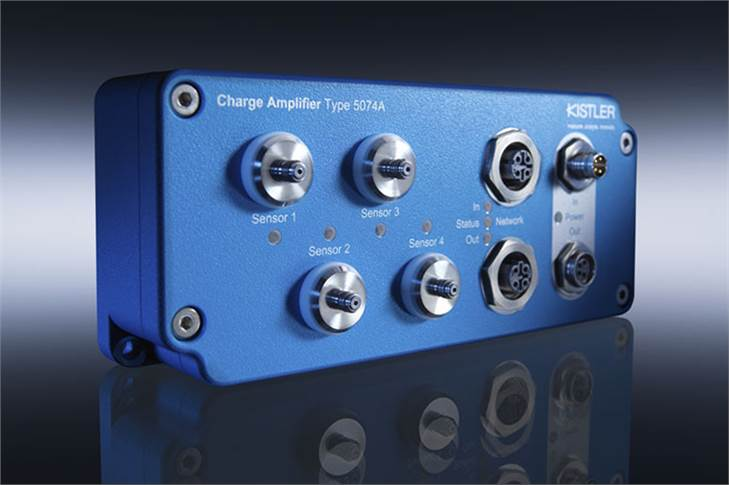 Kistler's digital industrial charge amplifier is the world's only amplifier that offers real-time capability for measurements with piezoelectric sensors including data transfer via Industrial Ethernet