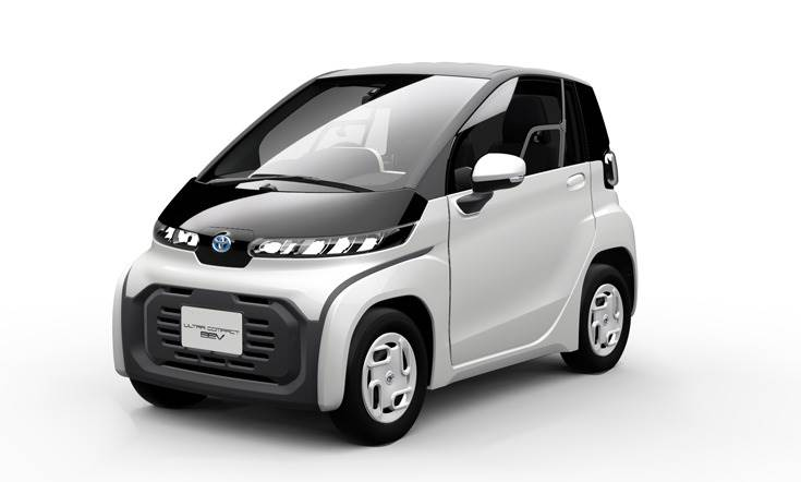 Urban two-seater runabout has a range of 100km on a single charge, maximum speed of 60kph and an extremely small turning radius.