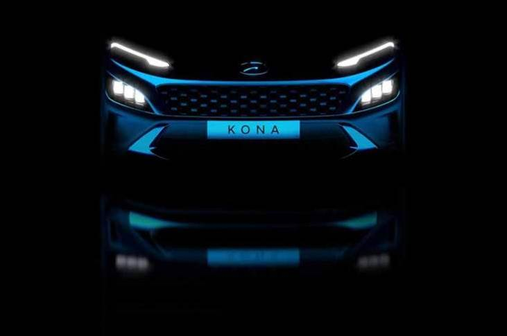 Key changes include a totally redesigned front end, with the current hexagonal grille ditched in a favour of a wider, slimmer item stretching across the Kona