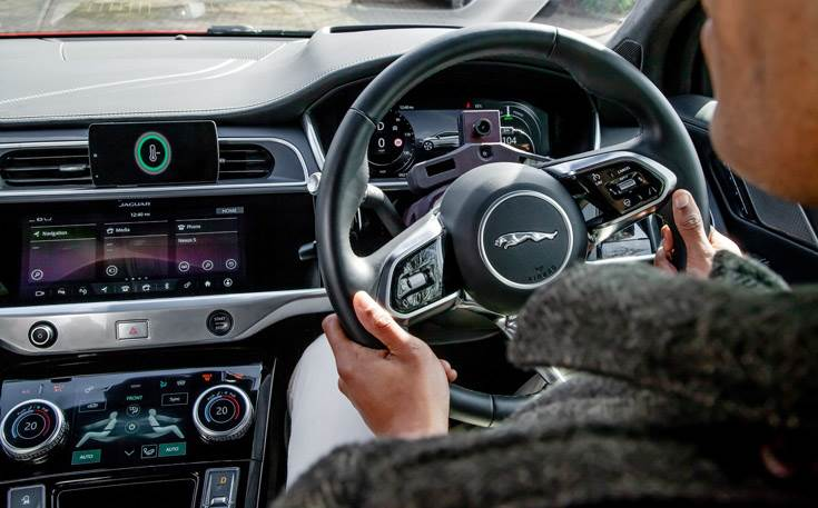 New mood-detection system is one of a suite of technologies Jaguar Land Rover is exploring as part of its 'tranquil sanctuary' vision to improve the overall driving experience.
