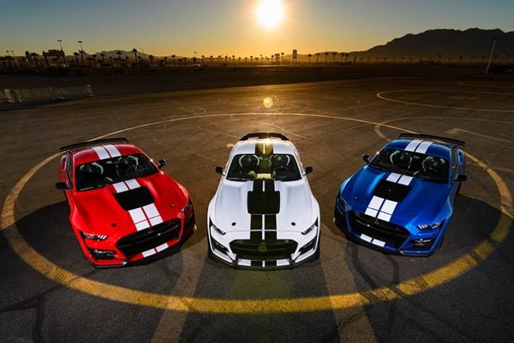2020 Shelby Mustang GT500.