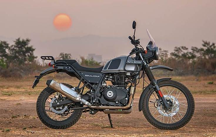 The Himalayan adventure bike ranks among the Top 5 motorcycles in the UK in the middleweight segment in the June 2019-June 2020 period.